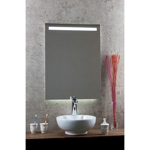Blinq Nelid spiegel 80x80 cm.led boven-ambilight onder+sensor