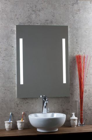 Blinq Nelid spiegel 90x80 cm.li.+re.led verlichting+sensor