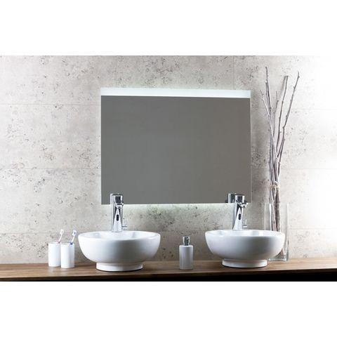 Blinq Nelid spiegel 80x80 boven-onder led+sensor+verwarming