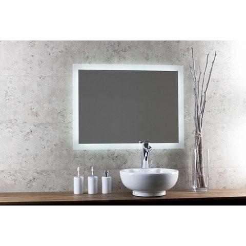 Blinq Nelid spiegel 90x80 cm. met rondom led verlichting