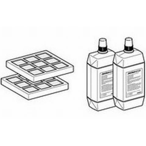 Geberit  set koolstoffilter+aquaclean douchearmreiniger 2st