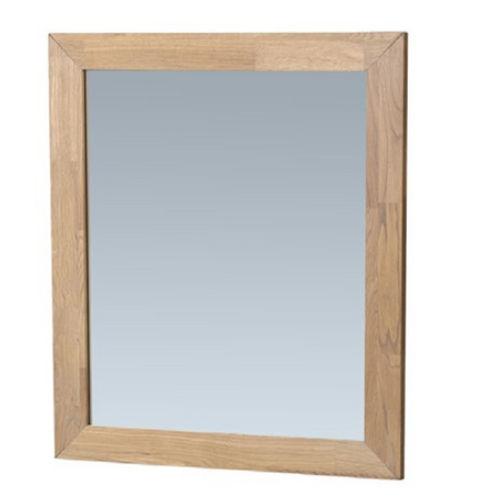 Bewonen spiegel Natural Wood 60