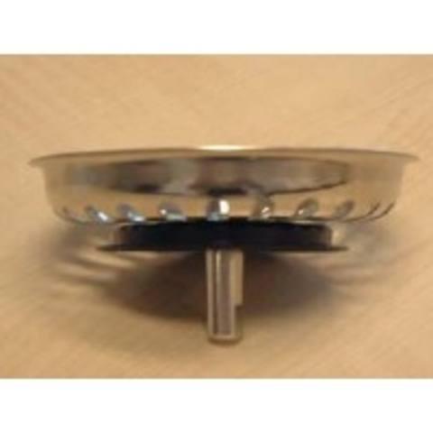 Viega  korfzeef voor gootsteen met handbediening chroom