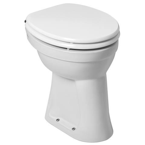 Blinq Merano staande 6cm verhoogd toilet AO vlakspoel
