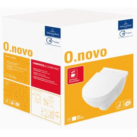 Villeroy & Boch O.novo wandcloset met zitting SC + QR