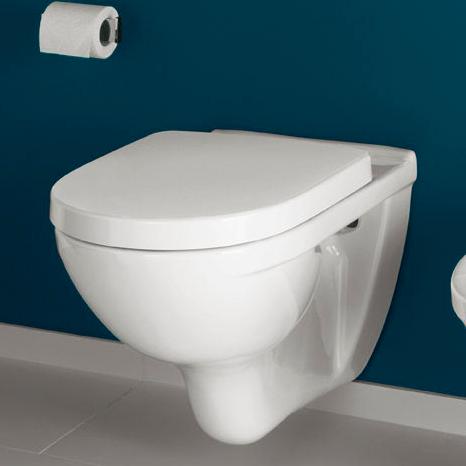 Toilet Villeroy En Boch.Villeroy Boch O Novo Wandcloset Compact Met Zitting Sc Qr
