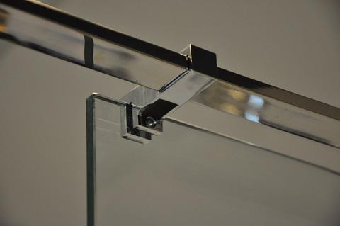 Wiesbaden Comfort glaskoppeling zijkant stabiliastiestang chroom