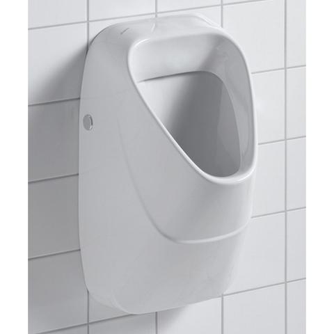 Geberit 300 Urinals urinoir keramisch rooster achterinlaat wit