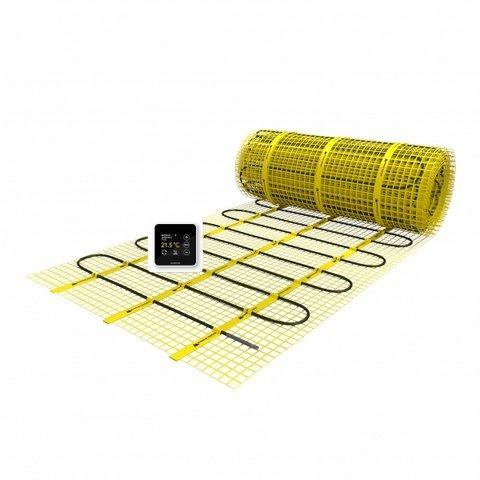 Magnum Mat vloerverwarmingsmat met WiFi thermostaat - 2400x50 cm (1500W 12m2)