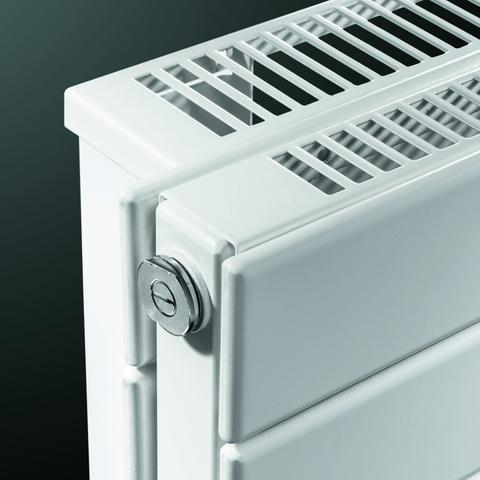 Vasco Viola H2l2-Ro radiator 900x578 mm. n16 as=0026 1517w wit ral 9016