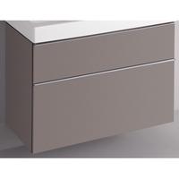 Sphinx 345 wastafelonderbouw 89 cm platina grijs