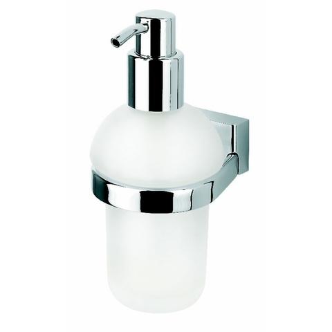 Geesa Bloq zeepdispenser chroom