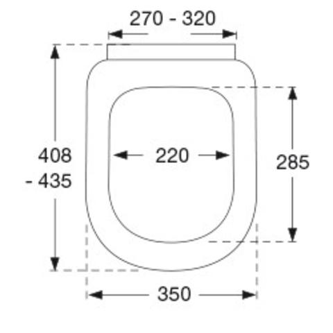 Pressalit Pressalit 3 closetzitting met deksel softclosing wit