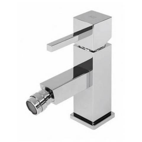 Hotbath Bloke Q018 bidetmengkraan zonder waste geborsteld nikkel