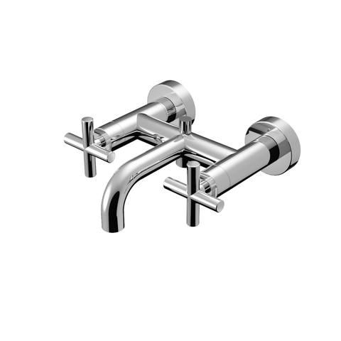 Hotbath Chap C030 badmengkraan geborsteld nikkel