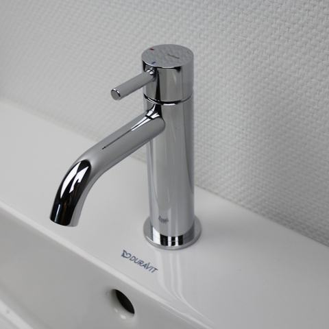 Hotbath Laddy L003 wastafelmengkraan zonder waste chroom