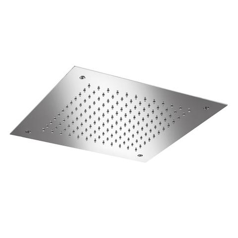 Hotbath Mate M110 hoofddouche vierkant 38cm geborsteld nikkel