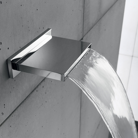 Hotbath Mate M160 Cascade wand douche uitloop chroom
