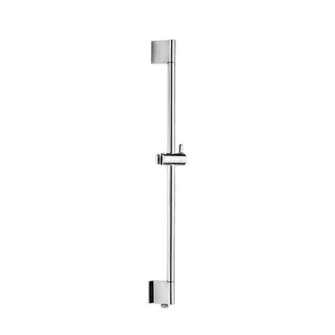 Hotbath Mate M305 glijstang 90cm ABS kunststof met geïntegreerde uitlaat geborsteld nikkel
