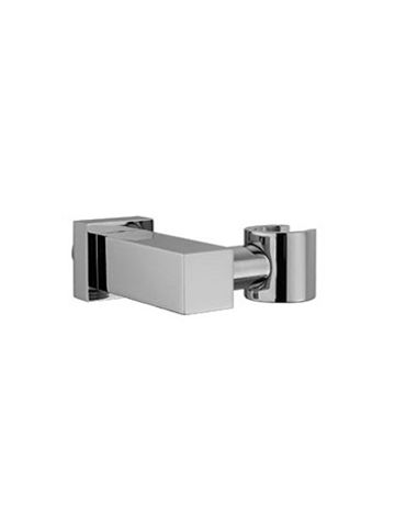 Hotbath Mate M507 wandsteun vierkant geborsteld nikkel