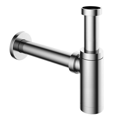 Hotbath Cobber P035 wastafelsifon rond chroom