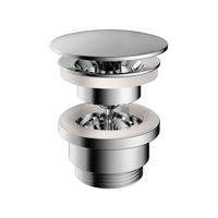 Hotbath Cobber P708 niet-afsluitbare plug rond chroom