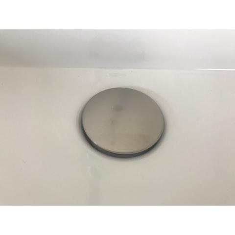 Hotbath Cobber P708 niet-afsluitbare plug rond geborsteld nikkel