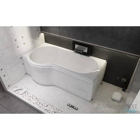 Riho Dorado bad acryl 170x75cm rechts wit