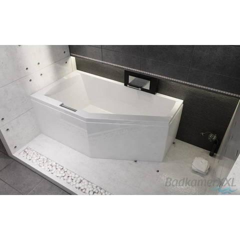 Riho Geta bad acryl 160x90cm rechts wit