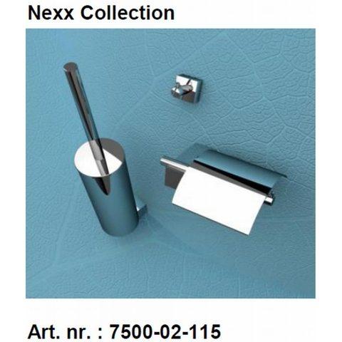 Geesa Nexx toilet accessoires set chroom