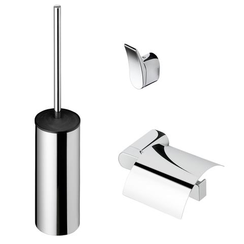 Geesa Wynk toilet accessoires set