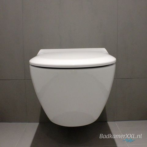 Villeroy & Boch Subway 2.0 toiletzitting SlimSeat met QuickRelease & Softclosing wit