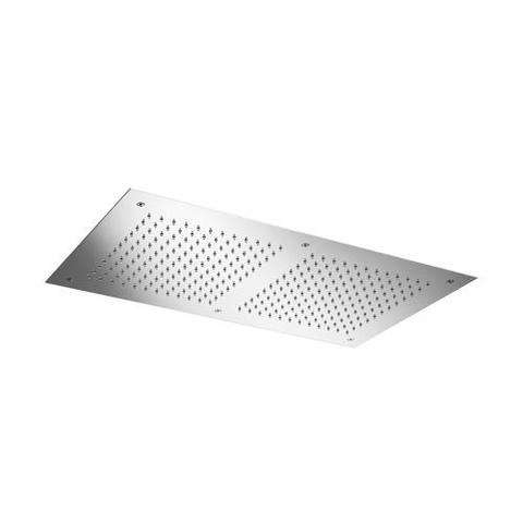 Hotbath Mate M205 hoofddouche 38x70 cm geborsteld nikkel