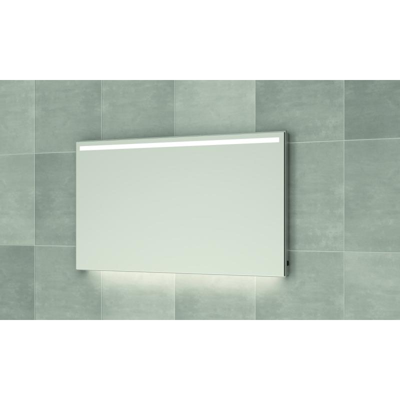 Bruynzeel spiegel 120cm met horizontale LED verlichting