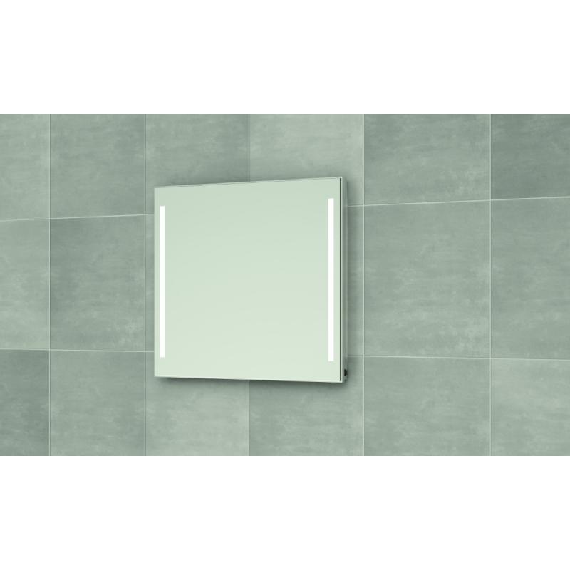 Bruynzeel spiegel 80cm met verticale LED verlichting