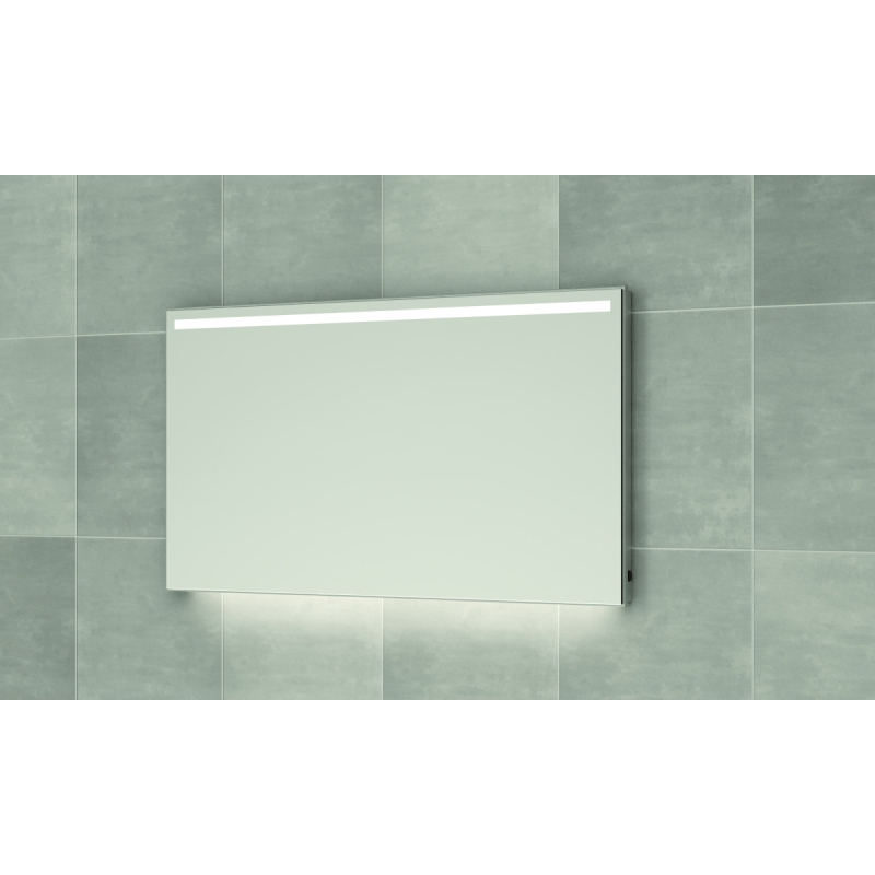 Bruynzeel spiegel 160cm met horizontale LED verlichting