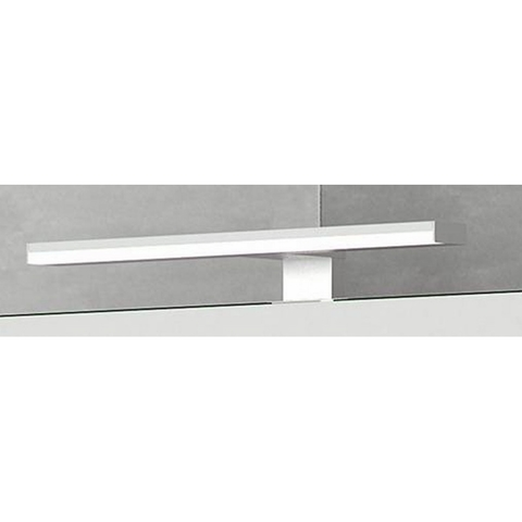 Bruynzeel  badkamerlamp m/led verlichting v/meubel 5,2cm.hoog aluminium