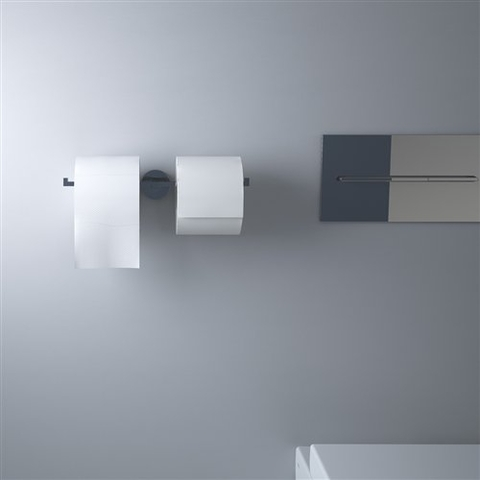 Clou Flat toiletrolhouder dubbel