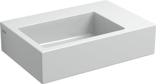 Clou Flush 2 toiletfontein zonder kraangat wit keramiek