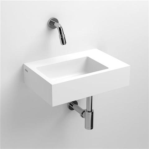 Clou Flush 2 toiletfontein met (voorbewerkt) kraangat aluite