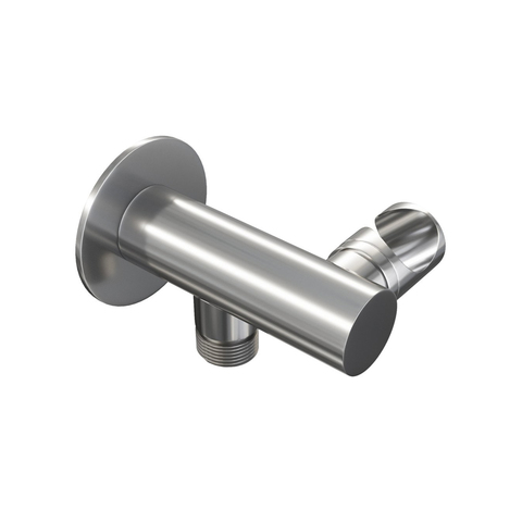 Brauer Chrome Edition inbouwset met 3-weg thermostaat - hoofddouche 20cm - rechte wandarm 40cm - staafhanddouche - wandaansluiting