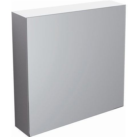 Clou Match Me spiegelkast 70 x 16,7 cm omkeerbaar wit melamime