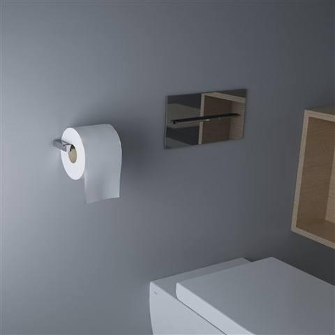 Clou Quadria toiletrolhouder zonder klep