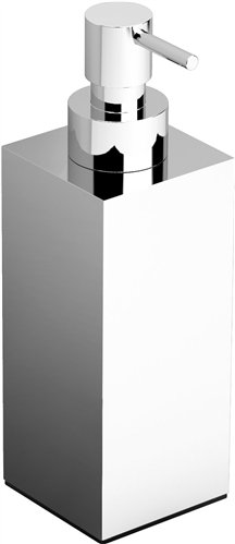 Clou Quadria zeepdispenser staand chroom