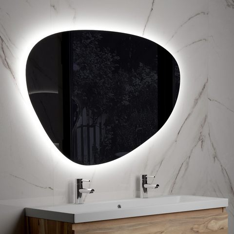Bewonen Organic led- spiegel dimbaar 120 cm