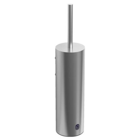 Clou Sjokker toiletborstelgarnituur wand RVS geborsteld