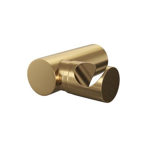 Brauer Gold Edition badset - staafhanddouche - geborsteld goud PVD