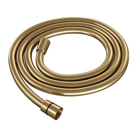 Brauer Gold Edition badset - ronde 3 standen handdouche - geborsteld goud PVD