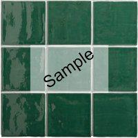 Sample - By goof Oud Hollandse Witjes Oud Groen 13x13