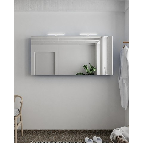 Mondiaz Cubb spiegelkast 150x70x16cm met 3 deuren - Jeans
